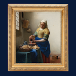 Het melkmeisje Johannes Vermeer