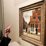 Het straatje Johannes Vermeer