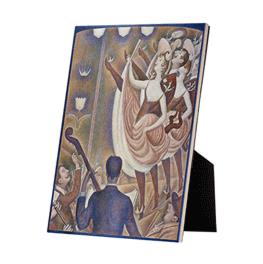 Le Chahut op keramische tegel op standaard