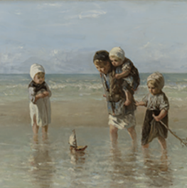 Children of the Sea on canvas