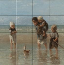 Children of the Sea on tiletableau