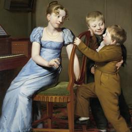 Het gestoorde pianospel op canvas