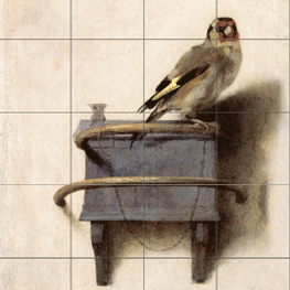 The Goldfinch on tile-tableau