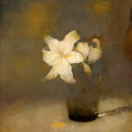 Courtisane (naar Eisen) Reproduktie Vincent van Gogh op canvas