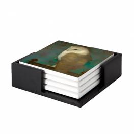 Amandelbloesem door Vincent van Gogh museum kwaliteit reproduktie op tegels