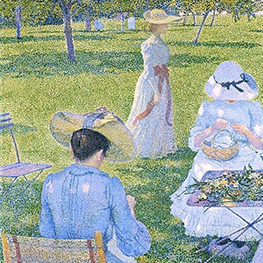 Theo van Rysselberghe's orchard
