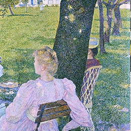 The orchard Theo van Rysselberghe