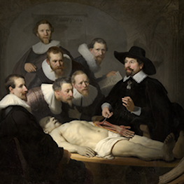 Anatomy Lesson of Dr. N. Tulp