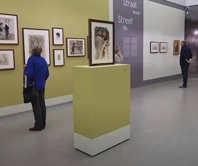 Het leven getekend, expositie in het Kröller-Müller Museum