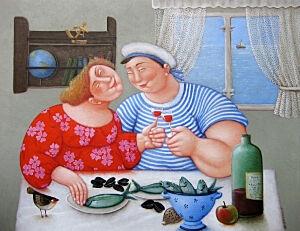 Afbeelding van onze reproductie van Snoepreisje by Ada Breedveld op canvas, klein