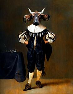 Afbeelding van onze reproductie van Gaston by Tein Lucassen op , klein