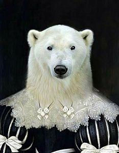 Afbeelding van onze reproductie van Polly by Tein Lucassen op , klein